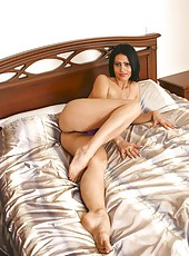 Tempting cougar nelli maneuvers her body with grace offering views that will make your cock rock