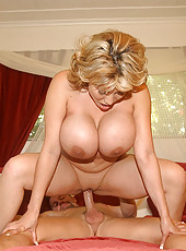 Amazing big tits milfs get their hot bodies fucked hard in these hot pics