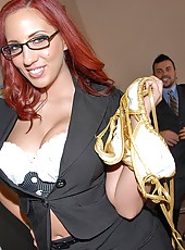 Amazing super hot big tits red headerkelly divine fucke