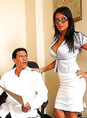 Super sexy big tits gianna gets her hot ass pussy fucked hard in the office in these hot after hour fucking pics