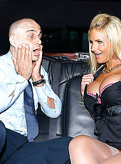 Super hot big tits babe pheonix takes a cock in the limo then takes it deep in her amazing ass in this awesome update
