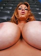 Sexy big tits tiff gets nailed in the ass and gets pounded with her legs behind her head