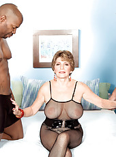 Two Big, Black Cocks For Bea Cummins!