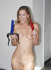 Sexy hot horny milfs play with toys they get off with toys have sex orgie