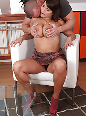 Horny MILF Sophia M proves how much she likes a cock inside her