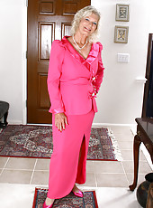Elegant 59 year old Michelle V from AllOver30 looks hot as hell