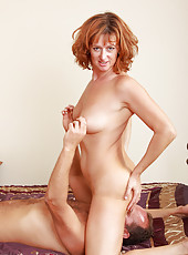 42 year old Liddy from AllOver30 getting her english pussy stuffed full