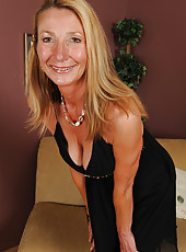 Elegant housewife Pam from AllOver30 looking great for 51 years old
