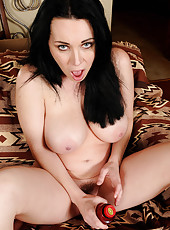 Hot and horny RayVeness has a fantastic time with her vibrating friend