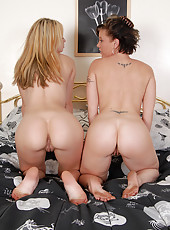 Horny MILF Devonshire gets her mature pussy eaten by her babysitter