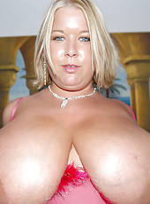Cum see what real titties should look like with lauras fine enourmous rack