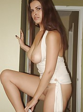 See my wife kristina caught on camera in these hot picsq