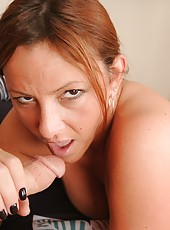Young stud Billy has one awesome step mom Gia Sophia. When Gia notices he is studying sex ed the perverted milf decides to coax his cock to get hard and ejaculate.
