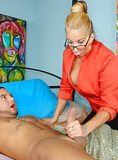 granny stoked bog cock at clubtug