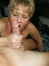 hottie hot wife tracy milf handjob