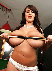 Pool table and the perfect titties