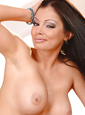 Aria Giovanni strips & teases you