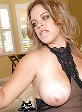Hot real big tits blonde nailed hard in her fuck me boots real hot amateur fuck pics
