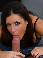 India Summer is a gorgeous horny teacher who fucks one of her students.