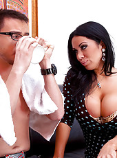 Sienna West shows her student how to fuck like a man