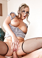 Shay Morgan is a sexy naughty teacher that will teach Dane Cross a lesson by making him fuck her