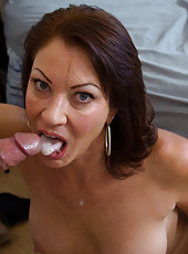Hot mom has hot sex with her son