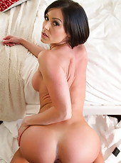 Sexy housewife Kendra Lust is horny and wants to be fucked by her husband.