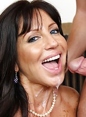 Busty MILF Tara Holiday has hot sex with younger friend of her son.