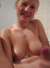 MILF gets kinky with her husband