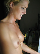 Wife topless around the house