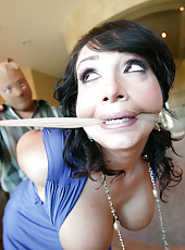 Hot MILF bound, humiliated and fucked!