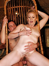 Old lady Eodit needs a big and hard cock badly