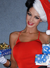 Please enjoy this Christmas set of sexy pics. All these presents