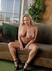 Jerking Off In The Milf Den