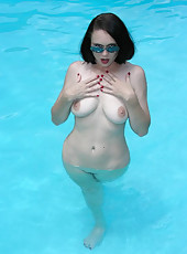 Milf at Pool