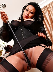 Mistress Danica cracks the whip