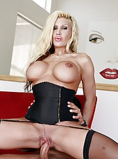 Busty Babe Michelle McLaren Pounded With Beefy Cock