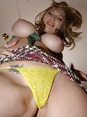 These hot mams sport some mega melons cum watch these babes get nasty