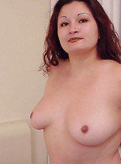 Sexy south american playing with her fat tits