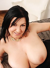 Busty Kora Does Herself In Doggy