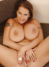 Laura M. Teases With Her 36F Jugs