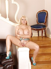 Newcomer Tantalizes With Her Juggs