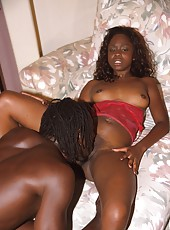 Ghetto girl getting eaten out and fucked hard