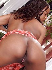 Black busty babe craving massive cock in tight snatch