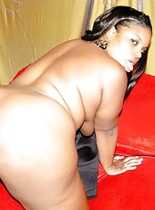 Fat black slut riding a hard white dick for all shes worth