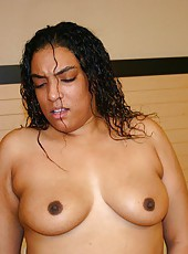 Huge Fat Ebony Loves The Cock Too