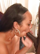 Big dick gets pumped by wet pussy