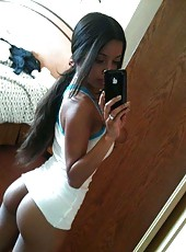 Picture selection of naughty amateur black girlfriends