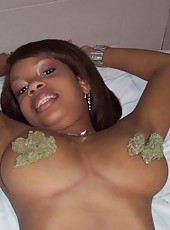 Photo gallery of amateur sexy and hot ebony girlfriends