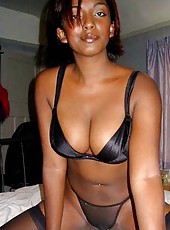 Photo gallery of a group of hot black girlfriends